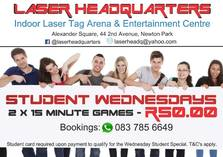 Student Wednesdays! Port Elizabeth Central Kids Party Venues _small