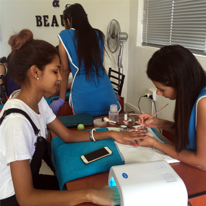 Expert nail technicians at Nail Studio and Beauty, Comaro View Shopping Centre (Bassonia) 011 432 4958