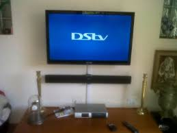 dstv and sound bar