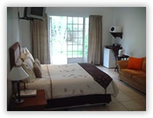 Double bedroom accommodation