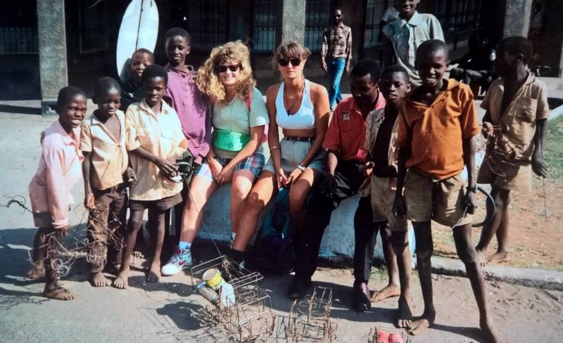 Street kids in Livingstone