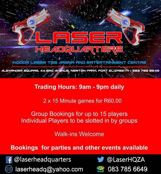 Student Wednesdays! Port Elizabeth Central Kids Party Venues 1