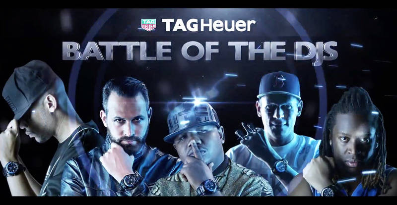 TAG Heuer Event Photography: Battle of the DJs